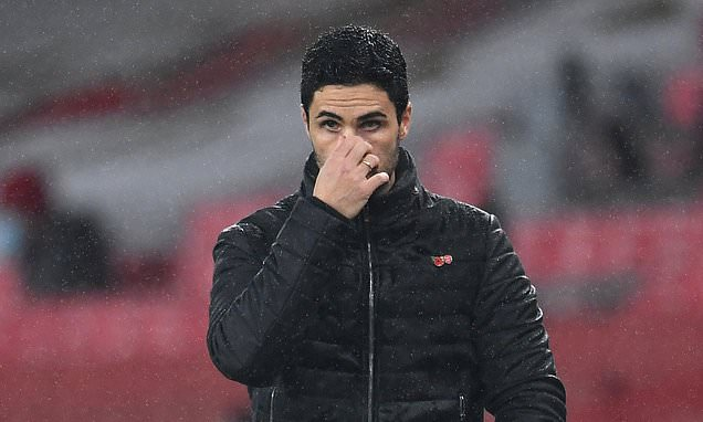 Arsenal manager Mikel Arteta insists he does not fear the sack