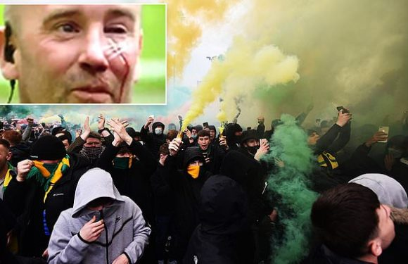 BRYAN ROBSON: Protests had the hallmarks of hooliganism