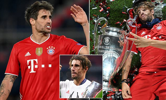 Bayern confirm that Javi Martinez will leave at the end of the season