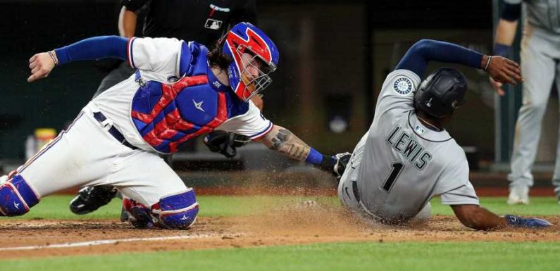 Behold, a fun few moments of instant replay in baseball