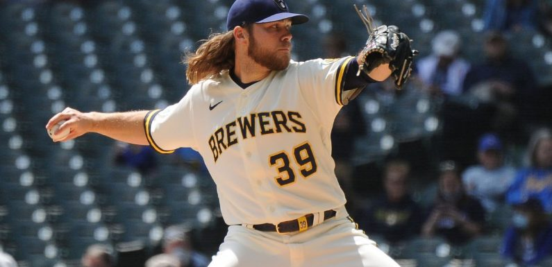 Brewers' Burnes sets record with K's vs. Cards