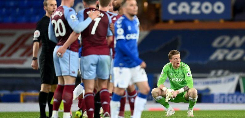 Carlo Ancelotti cannot explain Everton's dismal home form after defeat by Aston Villa