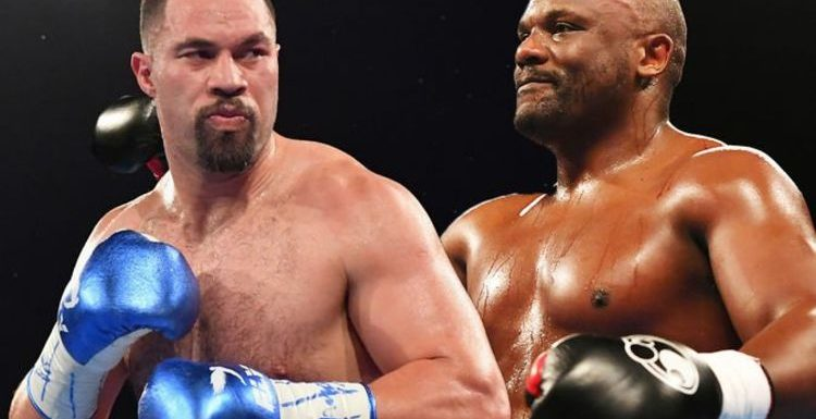 Chisora fight time tonight: What time is Dereck Chisora vs Joseph Parker tonight?