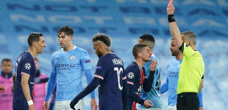 Commentator criticised for 'Latino temperament' comment over Di Maria red card