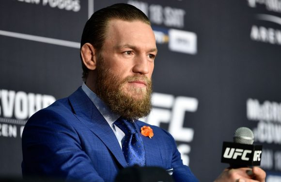 Conor McGregor in heated exchange with new UFC champion Charles Oliveira
