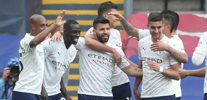 Crystal Palace vs Man City result: Player ratings as Sergio Aguero fires City to within reach of the title