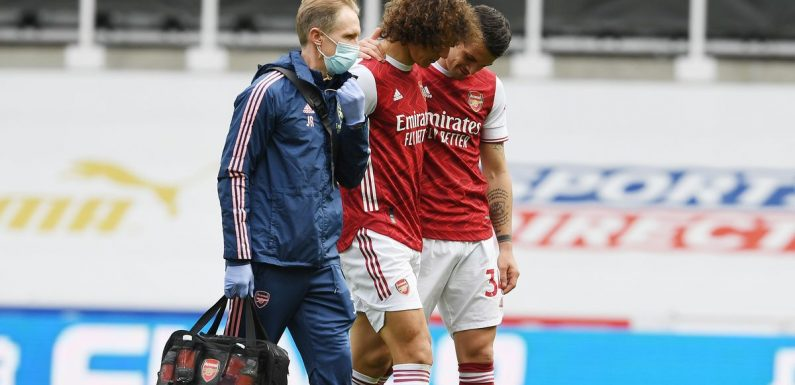 David Luiz may have played last game for Arsenal after injury update