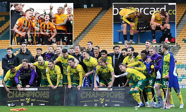 EFL ROUNDUP: Norwich are crowned Championship winners in Reading win
