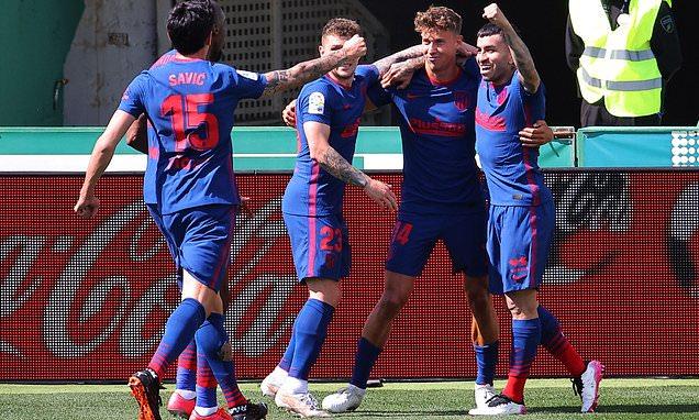 Elche 0-1 Atletico Madrid: Llorente goal sees visitors win
