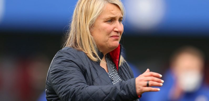 Emma Hayes 'overwhelmed with emotion' after Chelsea reach Champions League final