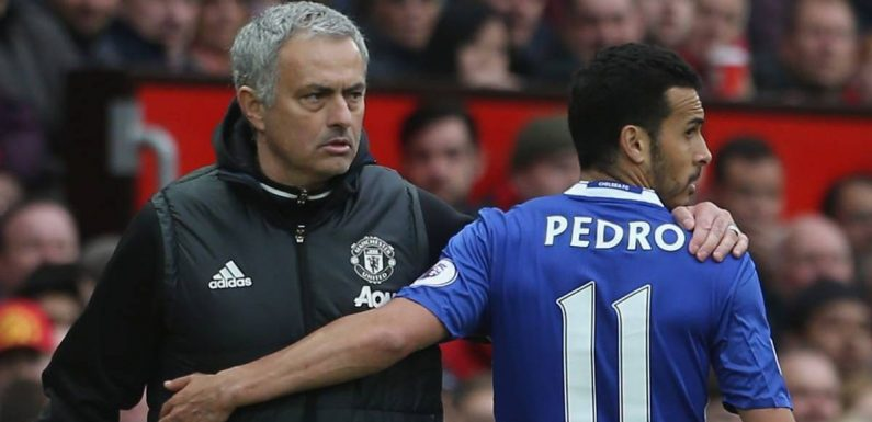 Ex-Chelsea star Pedro may regret past Mourinho comments after Roma appointment