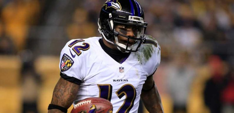 Former Raven Jacoby Jones taunts Cleveland at NFL Draft: 'Boo all you want . . . I got a ring'