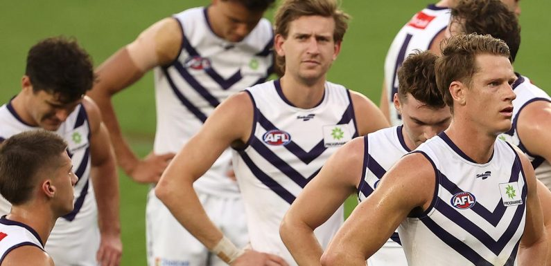 Freo coach's huge call after Eagles thrashing