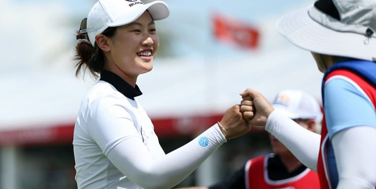Golf: Park's shock errors allow Lin to snatch lead at HSBC Women's World C'ship