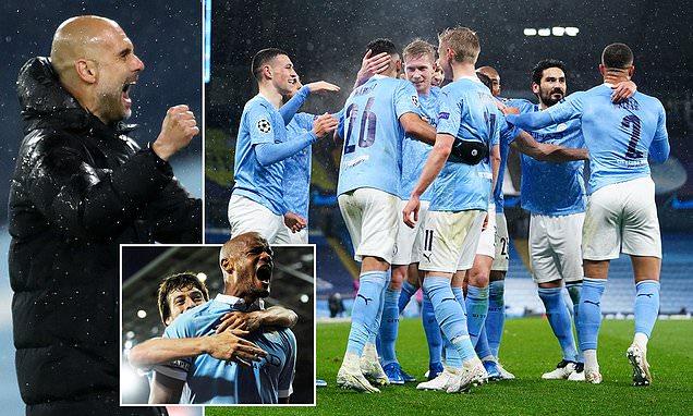 Guardiola praises his players as City reach Champions League final