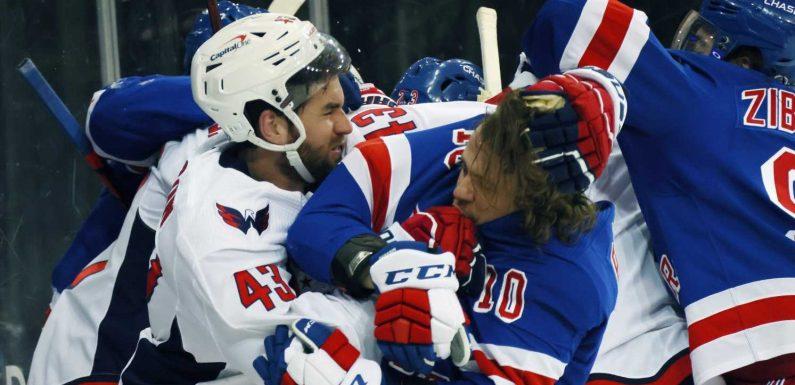 'Gutless terrible hockey:' Former tough guy John Scott rips NHL for only fining Capitals' Tom Wilson