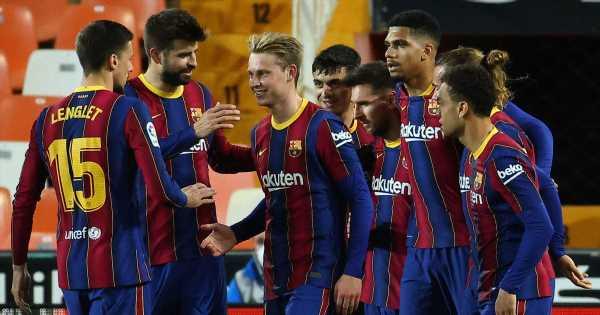 Inside Messi's private BBQ for Barcelona stars ahead of La Liga title climax