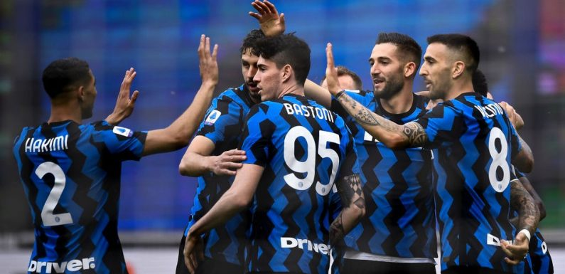 Inter Milan president asks title-winning squad to give up wages for two months