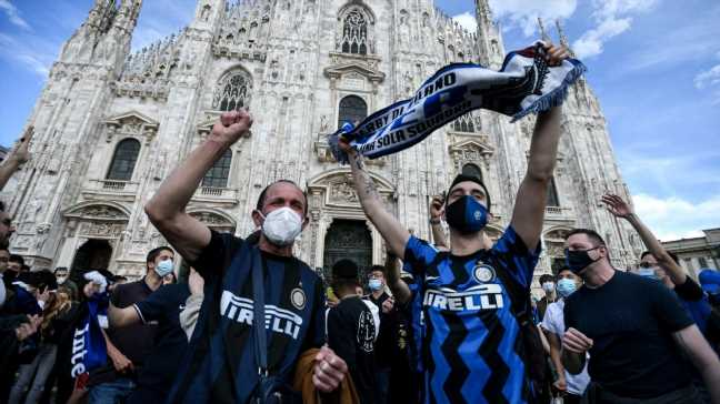 Inter end Juventus' stranglehold on Serie A title