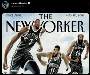 James Harden shuns Knicks with elite-level pettiness