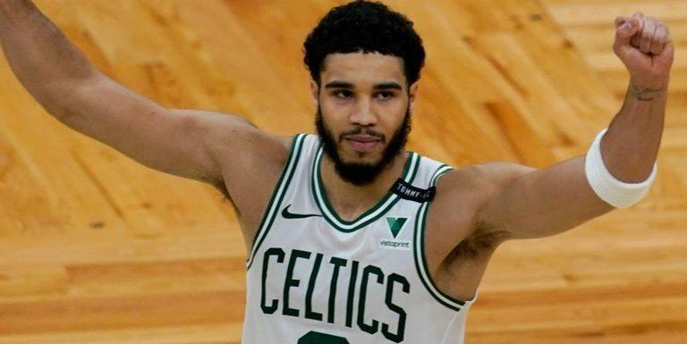 Jayson Tatum erupts for 60 on Boston Celtics comeback; LeBron James returns for Los Angeles Lakers