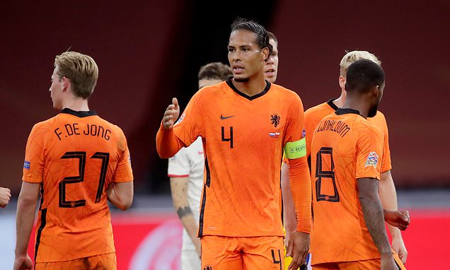 Jurgen Klopp begs Holland not to risk Virgil van Dijk's career