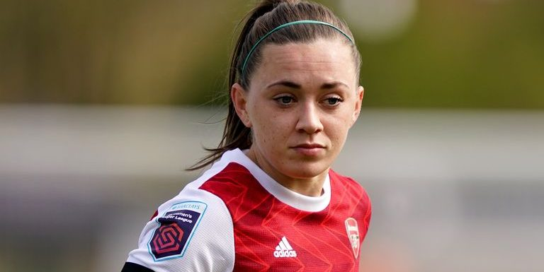 Katie McCabe: Arsenal winger 'delighted' after signing new long-term contract
