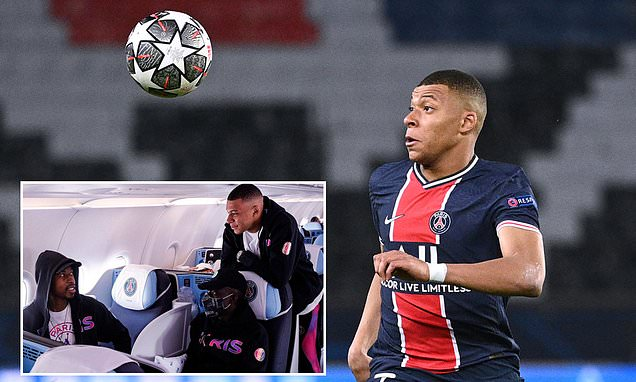 Kylian Mbappe travels to Manchester despite calf problem