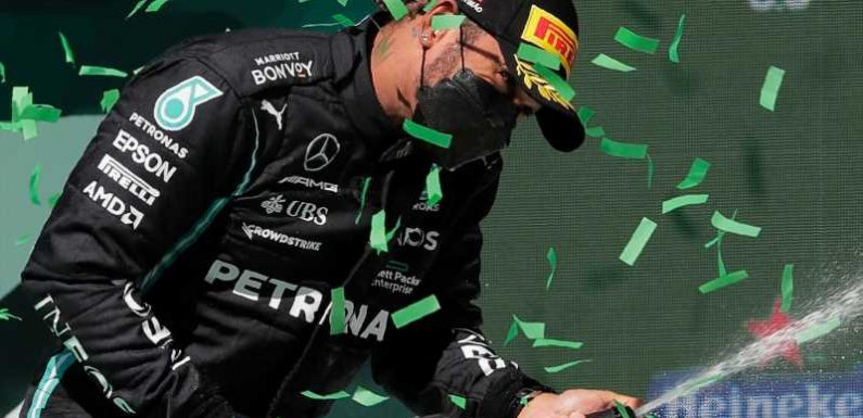 Lewis Hamilton revelling in F1 fight after 'awesome' Portuguese GP win following mistakes