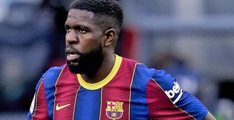 Liverpool 'offered bargain Samuel Umtiti transfer deal' as Barcelona look to sell