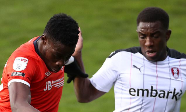 Luton 0-0 Rotherham: Visitors stay in the drop zone after stalemate