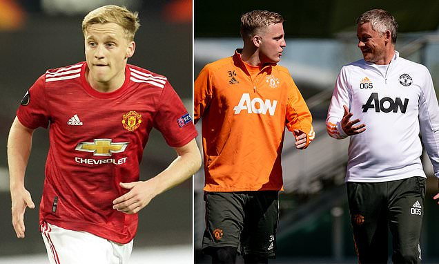 Man United 'will REJECT any offers for Donny van de Beek this summer'