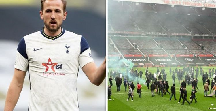 Man Utd owners the Glazers issued Harry Kane transfer message after Old Trafford protest
