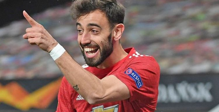 Man Utd star Fernandes is hunting down a record and Solskjaer responds before Liverpool