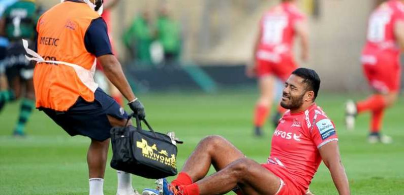Manu Tuilagi: Sale director of rugby Alex Sanderson says he would take centre on British and Irish Lions tour