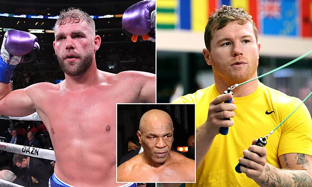 Mike Tyson writes off Billy Joe Saunders' chances against Canelo