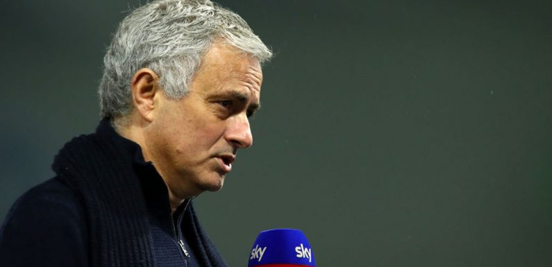 "Mourinho's ""long term"" Roma aim, Premier League return hint and England plan"