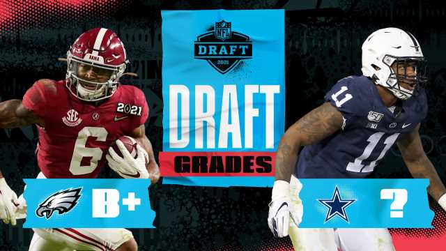 NFC East draft grades: Eagles jump up … and Dave Gettleman trades down!