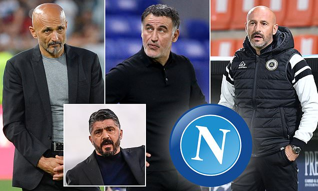 Napoli 'consdiering three replacements for Gennaro Gattuso'
