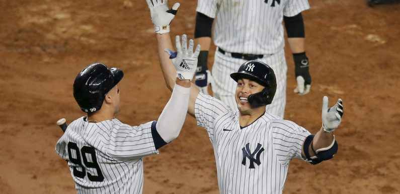 Opinion: Two weeks ago, Yankees fans wanted him out of town. Now, Giancarlo Stanton is the team's savior