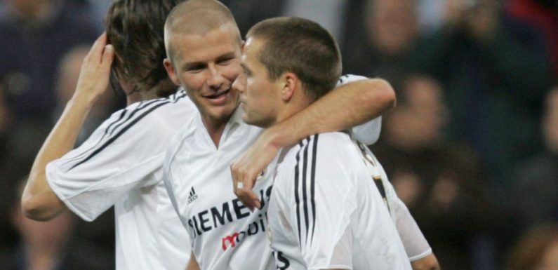 Owen's brutal reason for not socialising with Beckham during Real Madrid spell