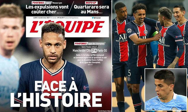 PSG urged by French media to earn spot in Champions League final