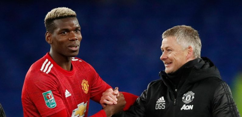 Paul Pogba's advice to Ole Gunnar Solskjaer after hearing surprise Man Utd stat