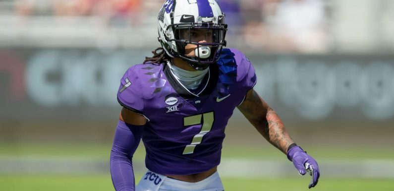 Raiders trade up to select TCU safety Trevon Moehrig