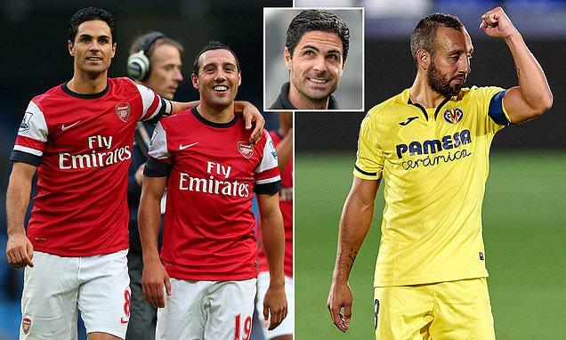Santi Cazorla admits Arsenal are 'inconsistent' under Mikel Arteta