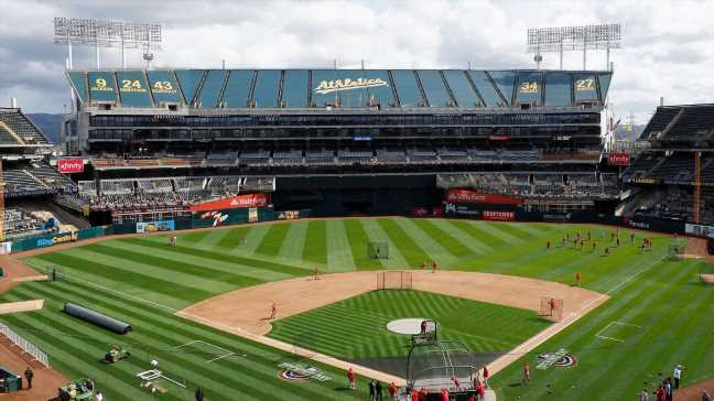 Sources: A's to look into relocating from Oakland
