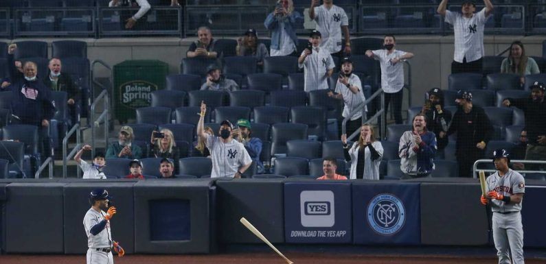 'The fans let them have it': Yankees – and boisterous Bronx crowd – get measure of revenge vs. Astros