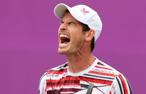 Andy Murray: Three-time Grand Slam champion beaten by Matteo Berrettini in cinch Championships at Queen's Club