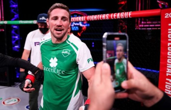 Brendan Loughnane ready to 'seize the moment' as British featherweight eyes PFL semi-final