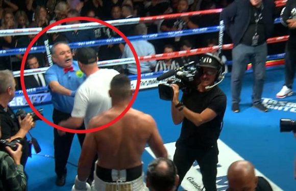 Extraordinary video shows heated clash after Gallen loss to Huni